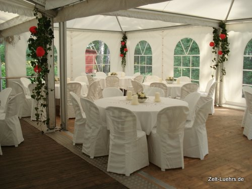 Zelt for Zelt deko hochzeit